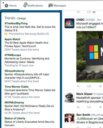 Twitter explica detalhadamente do que se tratam as hashtags dos Trending Topics  (Foto: Reprodução/Twitter)