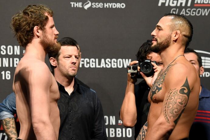 Gunnar Nelson, Santiago Ponzinibbio, UFC Glasgow, MMA (Foto: Getty Images)