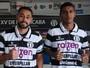 Concorrentes pela camisa 9, Gomes e Dairo alinham discurso em prol do XV