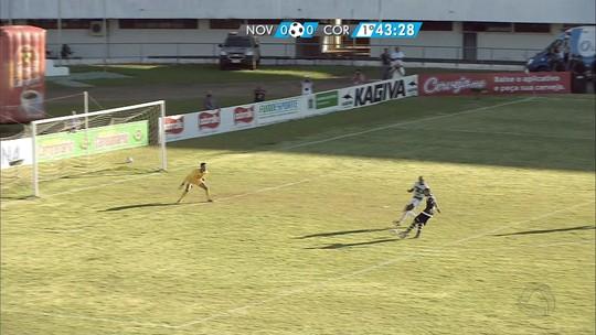 Novo e Corumbaense empatam no primeiro jogo da final do Sul-Mato-Grossense