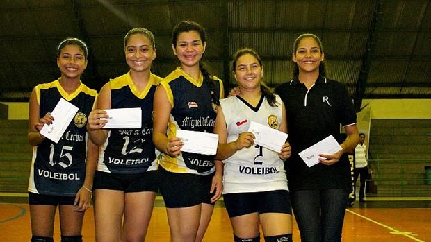 Jogadoras amazonenses pode ser pré-convocadas para a seleção brasileira juvenil feminino=19-04-2012 (Foto: Frank Cunha/GLOBOESPORTE.COM)