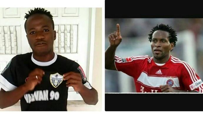 Nigéria diz que o chamam de filho do Zé Roberto (Foto: Arquivo/Joseph Lawson)