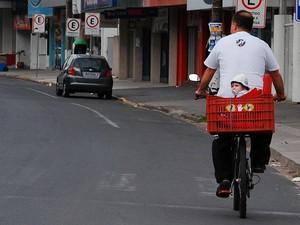 'Vá de Magrela' tenta estimular o uso de bicicletas (Foto: Eduardo Daniel/Divulgação)
