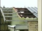 Chuva destelhou mais de 200 casas em Londrina, segundo os Bombeiros