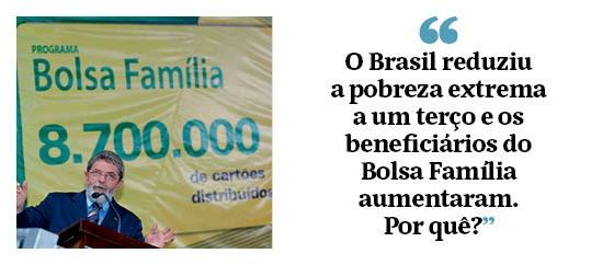 """Ricardo Paes de Barros: """"O Brasil reduziu a pobreza extrema a um terço e os beneficiários do Bolsa Família aumentaram. Por quê?"""" (Foto: Antônio Gaudério/Folhapress)"""