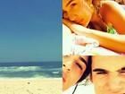 Lívian Aragão curte férias entre praia e namoro