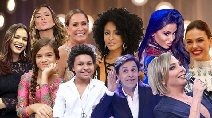 Entenda os nomes artísticos dos famosos (Foto: Gshow)