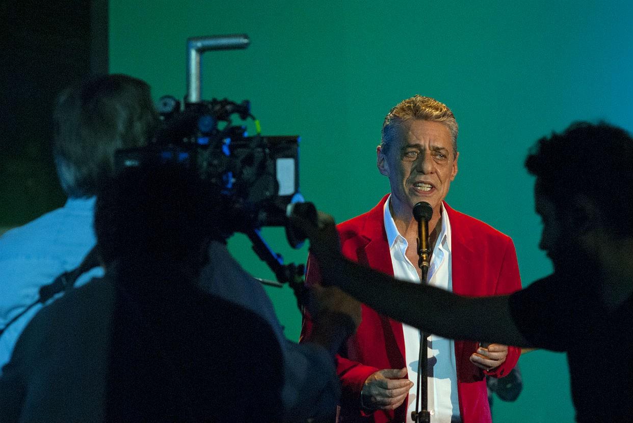 Filmagens do documentrio Chico:Artista Brasileiro (Foto: Reproduo)