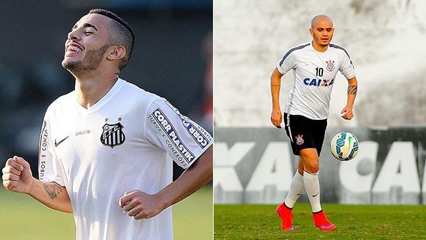 Santos tenta sair do Z4, enquanto o Corinthians busca a lideranção do campeonato (Foto: Divulgação)