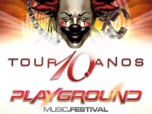 Playground Music Festival 2014 está prevista para sábado em Aparecida de Goiânia (Foto: Reprodução/ TV Anhanguera)