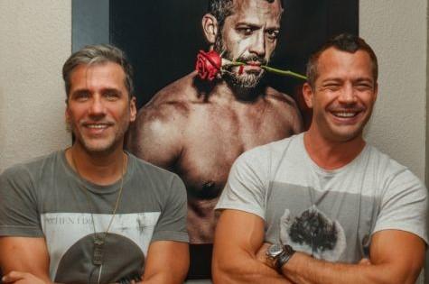 Marcelo Faustini e Malvino Salvador (Foto: Divulgação)