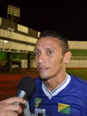 Rogério Tarauacá sai satisfeito com estreia pelo Atlético Acreano (Foto: Wescley Camelo)