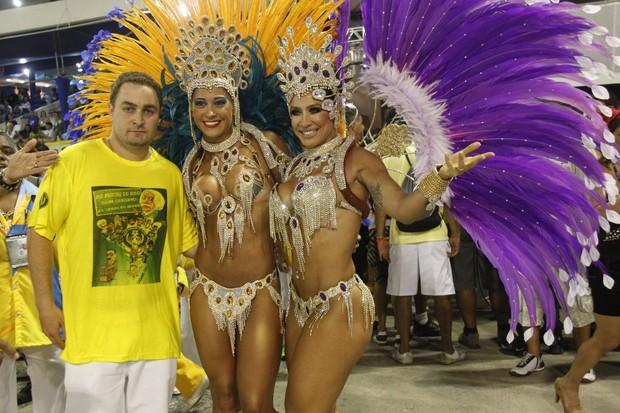 Myara Cardi e Sheila Carvalho  (Foto: MARCOS FERREIRA/Photo Rio News)