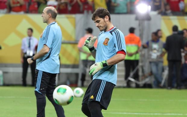 Espanha x Uruguai (Foto: Aldo Carneiro/Pernambuco Press)
