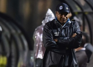 Palmeiras x Grêmio Roger Carvalho (Foto: Marcos Ribolli)