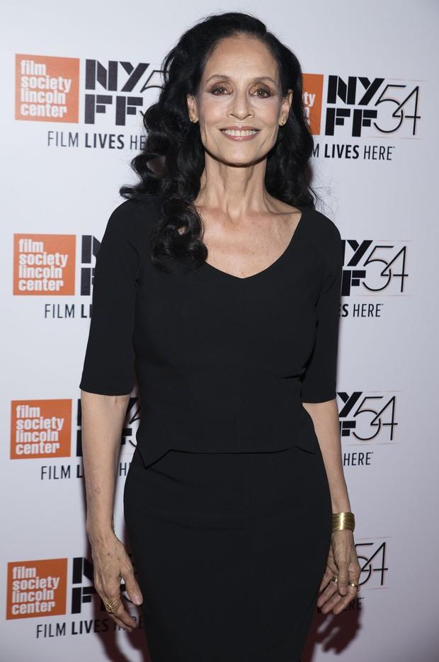 Sônia Braga em festival de cinema em Nova York, nos Estados Unidos (Foto: Jenny Anderson/ Getty Images)
