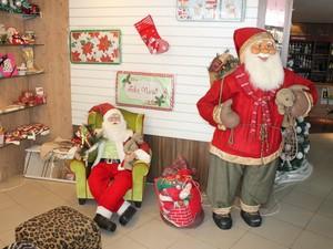 Comerciantes de Petrolina estão satisfeitos com as vendas para a época natalina (Foto: Yuri Matos/G1)