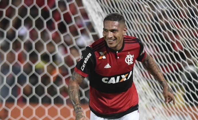 Guerrero, Flamengo x Chapecoense (Foto: André Durão)