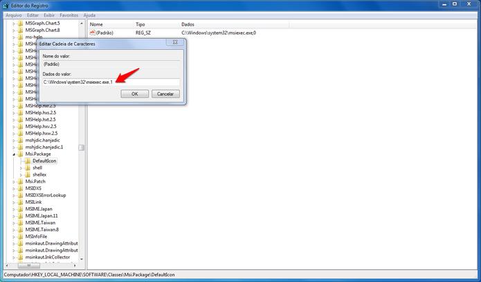 Bloqueando a instalação de programas no Windows utilizando o Editor de Registros. (Foto: Reprodução/Alessandro Junior) (Foto: Bloqueando a instalação de programas no Windows utilizando o Editor de Registros. (Foto: Reprodução/Alessandro Junior))