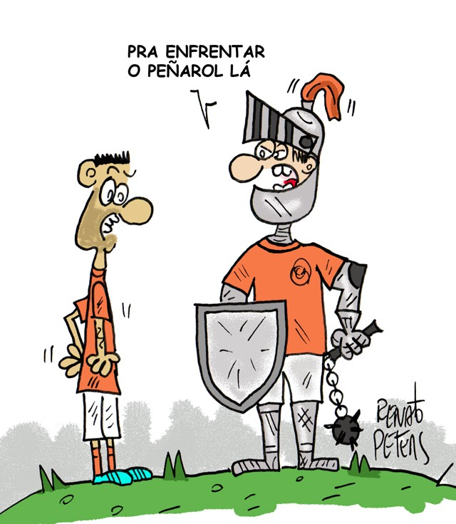 Libertadores-charge peters