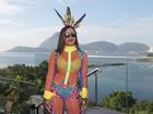 Anitta leva famosos para o Bloco das Poderosas no Rio e fala de polêmicas