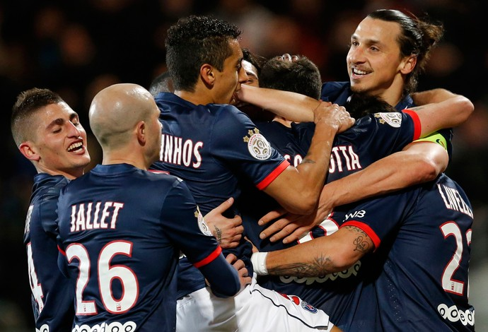 Lorient x PSG (Foto: Reuters)