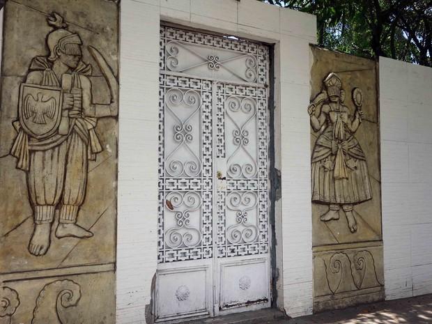 Terreiro do Pilão de Prata (Foto: Egi Santana/G1)
