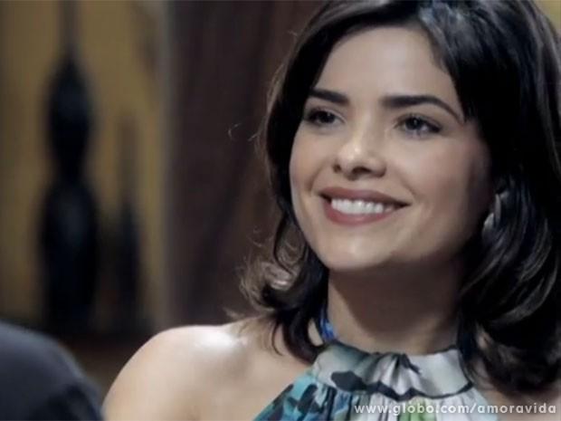 Aline dá em cima de Bruno (Foto: Amor à Vida/TV Globo)