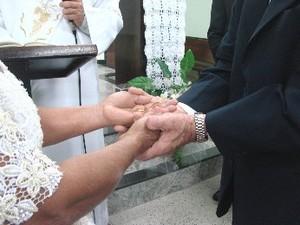 Casamento (Foto: Suellen Fernandes/G1)