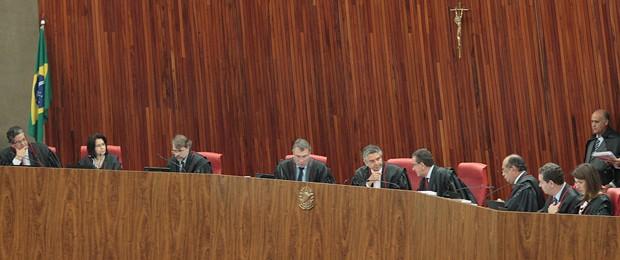 Plenário do TSE se reúne para analisar irregularidades junto com Ministério Público Eleitoral (Foto: Nelson Jr./ASICS/TSE)