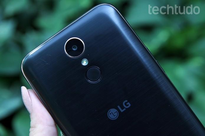 [marca] LG K10 Novo 5 (Foto: Aline Batista/TechTudo)