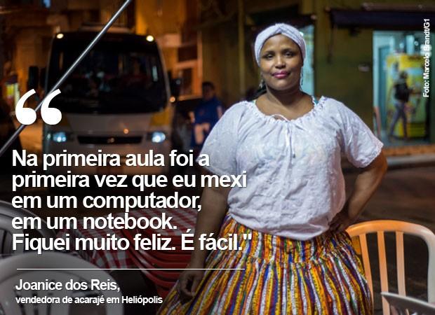 Joseane Heliópolis (Foto: Marcelo Brandt/G1)