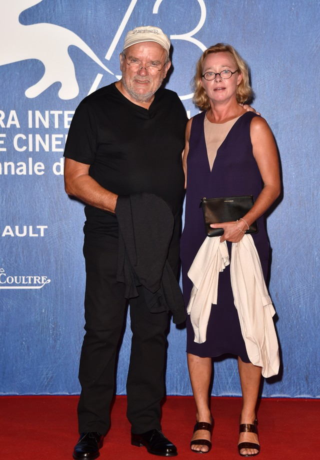 Peter Lindbergh e Petra Sedlazek (Foto: Getty Images)