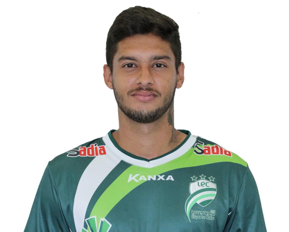 Diogo Henrique Sodré é jogador do Luverdense Esporte Clube (Foto: Luverdense/Divulgação)