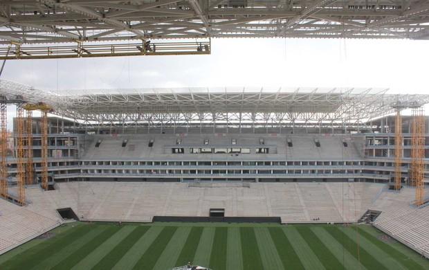 Obras da Arena Corinthians (Foto: Divulgação)