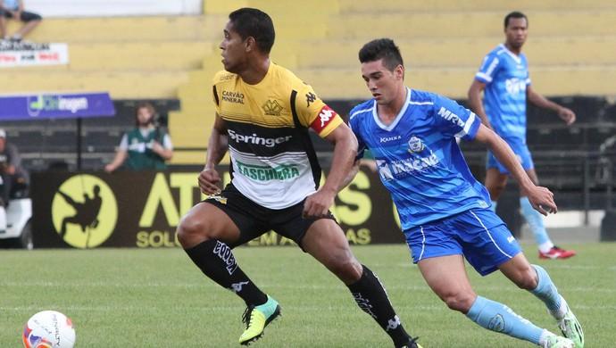 Juninho, macaé x criciúma (Foto: Tiago Ferreira / Macaé Esporte)