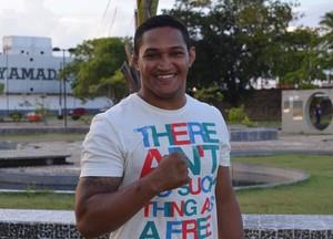 Jimmy Nascimento; Jiu-jítsu; Amapá (Foto: Rafael Moreira/GE)