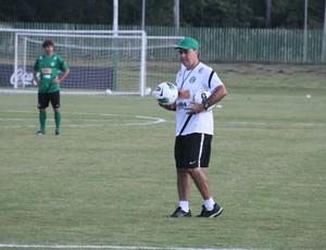 Marcelo Oliveira técnico do Coritiba (Foto: Gabriel Hamilko / GloboEsporte.com)
