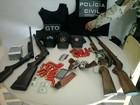 Armas usadas em pistolagem são apreendidas no RN, diz PM