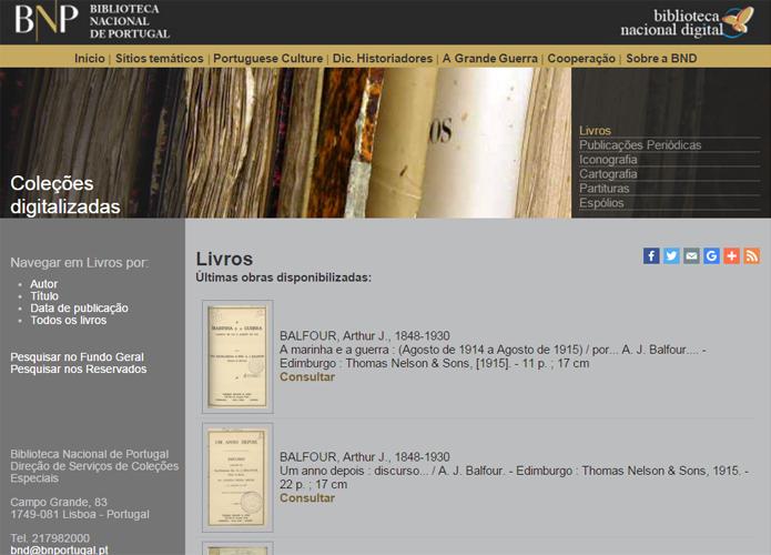 Biblioteca Nacional de Portugal tem coleções de arquivos históricos e de livros, que vão de romances a artigos acadêmicos de diversas épocas (Foto: Reprodução/Filipe Garrett)