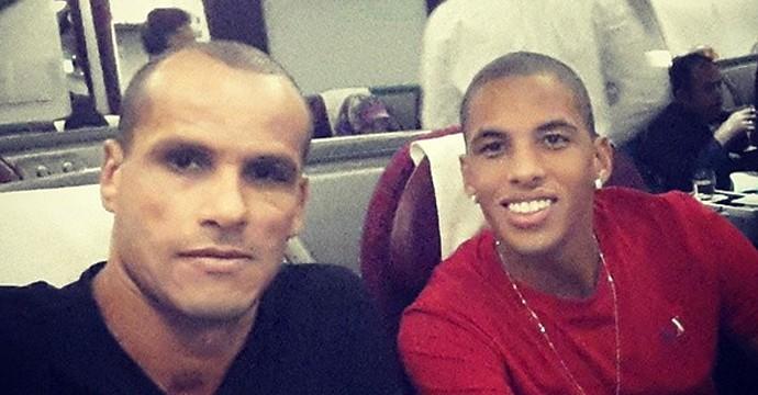 Rivaldo e Rivaldinho (Foto: Reprodução Instagram)