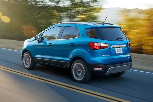 Ford Ecosport 2018 para o mercado norte-americano (Foto: Divulgação)