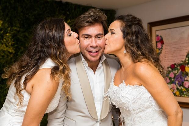 Casamento de Malu Verçosa e Daniela Mercury (Foto: Divulgação)