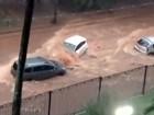 Temporal causa alagamentos e ruas da região de Campinas viram 'rios'