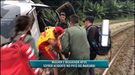 Mulher é resgatada no Pico Marumbi