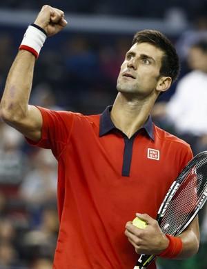 Novak Djokovic no Masters 1.000 de Xangai (Foto: EFE)