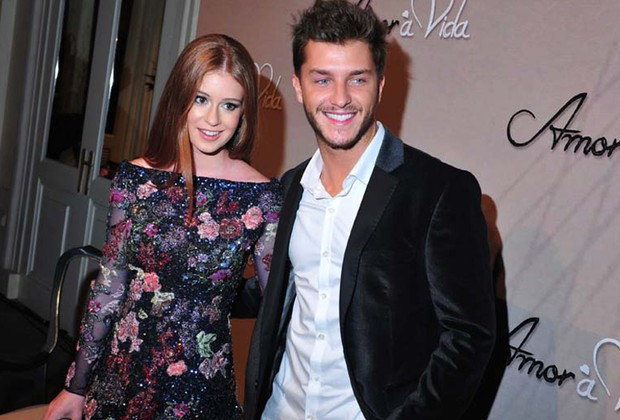 Marina Ruybarbosa e Klebber Toledo (Foto: Deco Rodrigues/Revista QUEM)