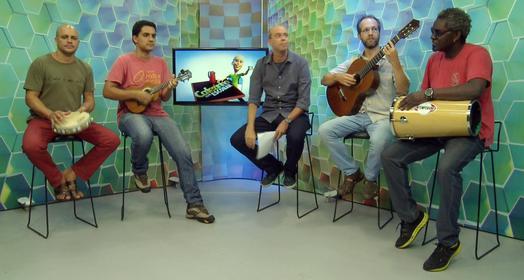 CANTE JUNTO COM O ESCOBAR (Reprodução / TV Globo)