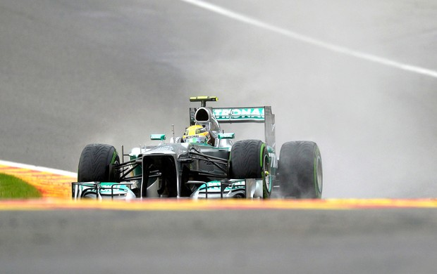 Formula 1 Hamilton gp Bélgica (Foto: Agência Reuters)