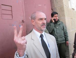 Sergio Marques Torcedores Oruro prisão Corinthians (Foto: Leandro Canônico)